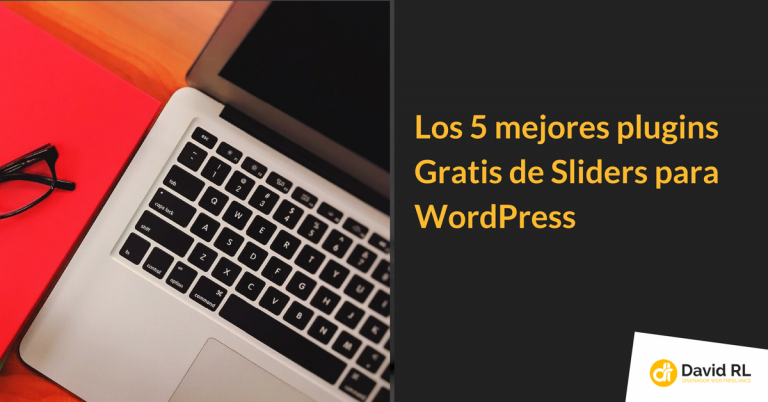 Los 5 mejores plugins Gratis de Sliders para WordPress