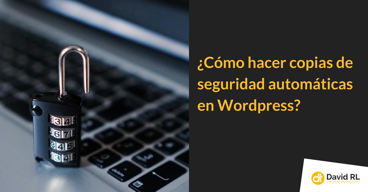 Copias seguridad wordpress