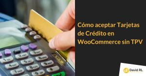 tarjetas de crédito Woocommerce