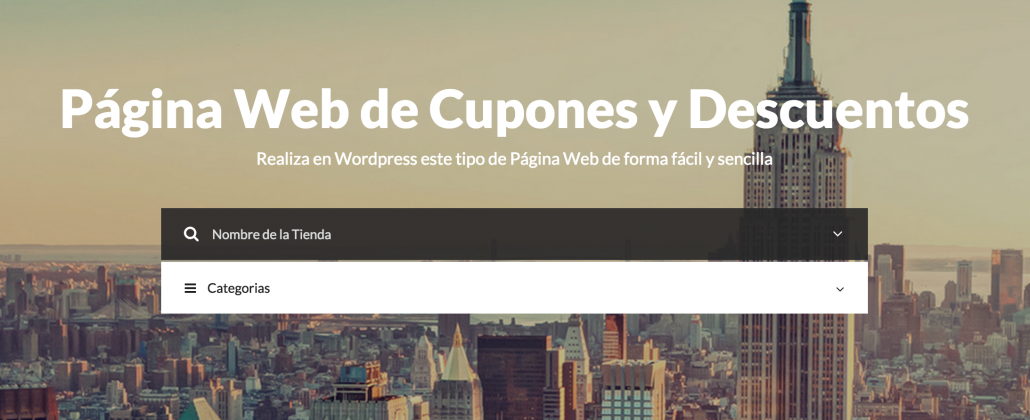 web-cupones-wordpress