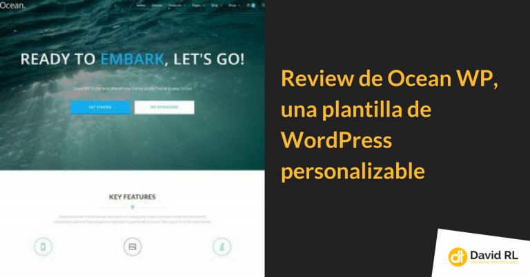 OceanWP, review con Vídeo