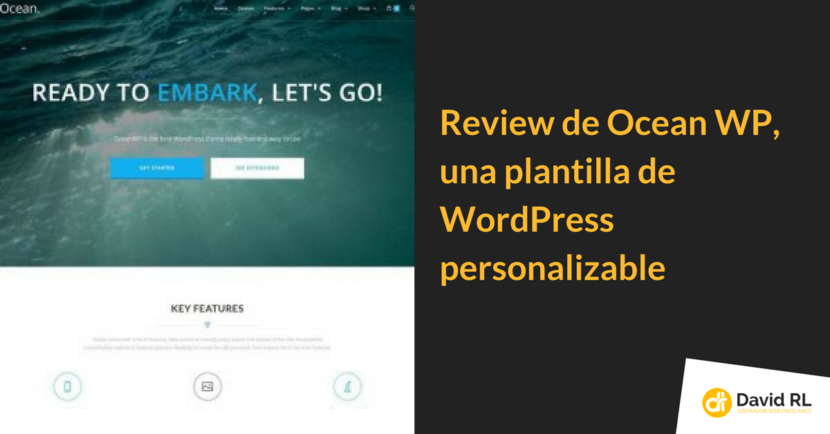 OceanWP, review con Vídeo | Randulfe