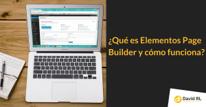 Qué es elementor page builder