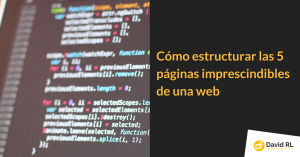 estructura de páginas web