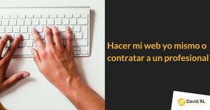 contratar a un profesional web