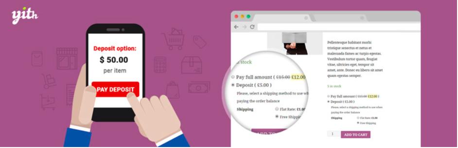 habilitar depositos en tienda online