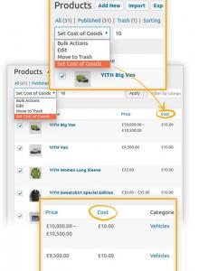 como poner el precio de coste en tienda online