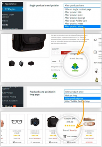 añadir marcas tienda online