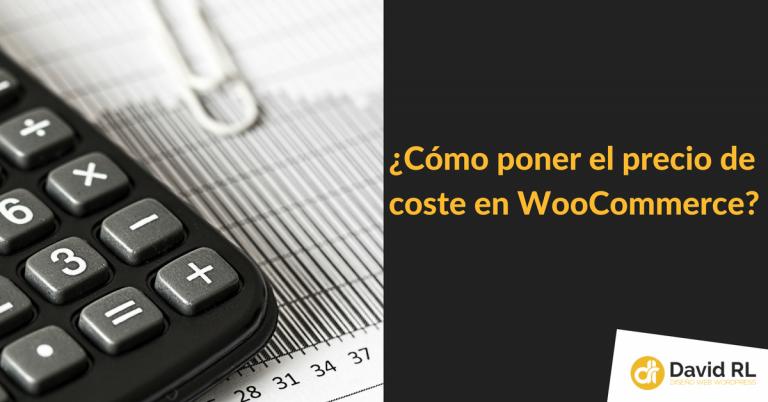 Cómo poner el Precio de Coste en WooCommerce