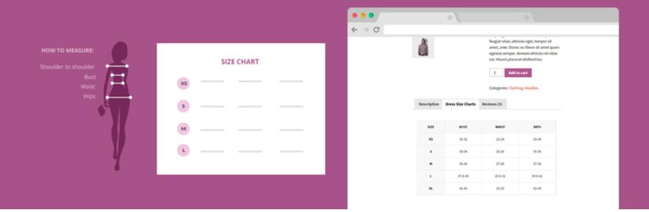 añadir tabla de tallas en tienda online