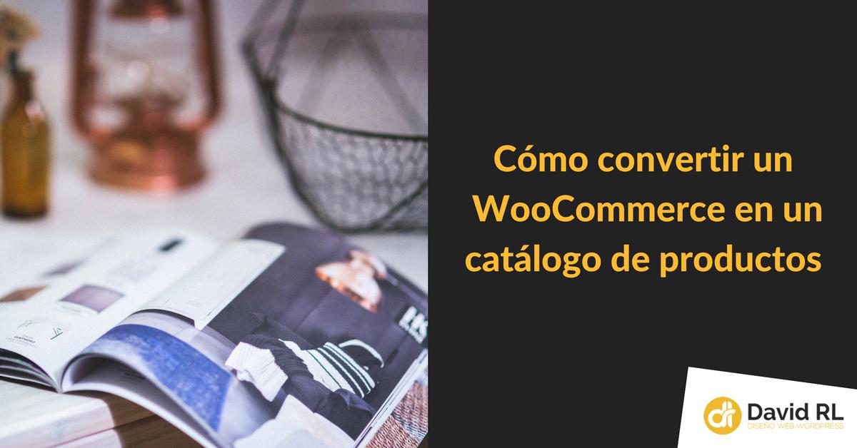 plugin para convertir tienda online en catalogo productos