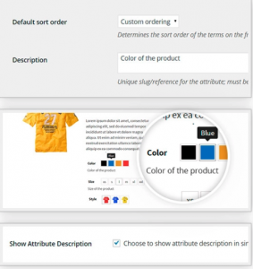 añadir selector color e imagen woocommerce